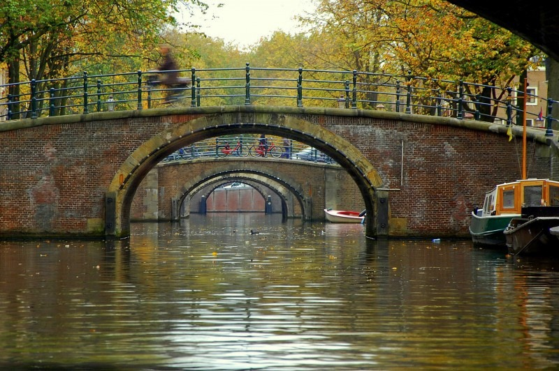 Reguliersgracht seven bridges: private Holland Tour from your cruise
