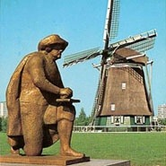 Rembrandt and Rieker Windmill: Amsterdam Private City Tour