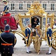 Golden Carriage. Dutch King and Queen. Holland Private Tour from Amsterdam