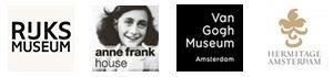 amsterdam private museum excursions logos rijks van gogh anne frank hermitage amsterdam